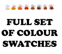 Adore: Full Set of 64 Colour Swatch Button Set