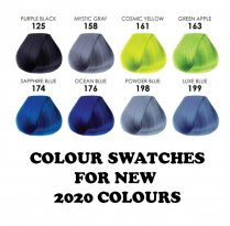 Adore Swatches for New 2020 Colours (8 new colours)