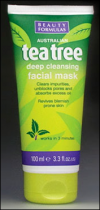 Beauty Formulas: Tea Tree Facial Mask 100ml