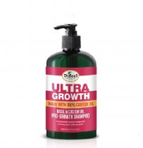 Difeel: Ultra Growth Basil & Castor Shampoo 12oz