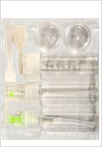 Eden: 8pcs Travellers Kit - 4oz Empty Containers (19904)