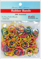 Eden: 300pcs Rubber Band - Assorted (103)