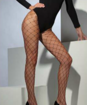 Fever: Diamond Net Tights, Black (42713)
