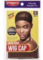 RED By Kiss: Mesh Dome Wig Cap - Dark Brown (HWC10)