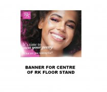 Kiss: Banner - For Centre of RK Floor Stand