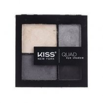 Kiss: Quad Eye Shadow Kit - Grey (KQS04)