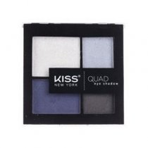 Kiss: Quad Eye Shadow Kit - Navy (KQS03)