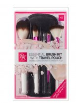 Kiss: RK 5pc Make Up Brush Set with Pouch (RMUBKBXSET01)
