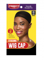 RED By Kiss: Stocking Wig Cap 2pc - Black (HWC01)